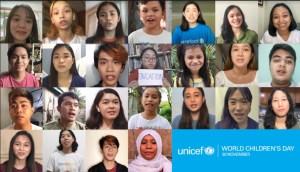 World Children's Day on November 20 Listen to children's experiences of COVID-19 – UNICEF