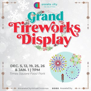 To Dos in Araneta City this long New Year weekend