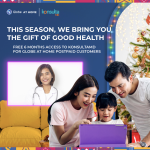 Exclusive gift of health and convenience with Free Konsulta MD from Globe At Home this Holiday season