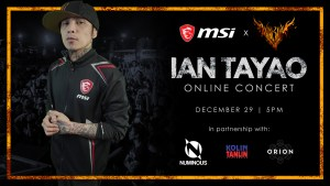 Rock and roll your way to the New Year: Join MSI's virtual Yearend Concert Party