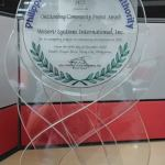 Fujitsu Global Delivery Center in the Philippines recognized by PEZA for Community Outreach Programs