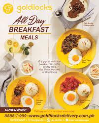Goldilocks All Day Breakfast