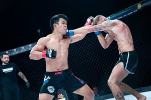 Rolando Dy remains BRAVE CF fighter