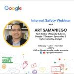 Google holds digital safety tips webinar to help Filipinos stay safer online