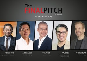 The Final Pitch judges are looking for individuals with great business ideas to solve post pandemic problems