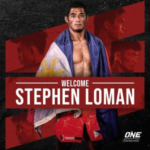 Loman faces tough rivals in ONE Championship