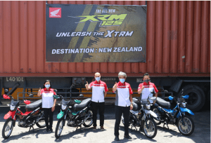 HPI exports XRM125 to New Zealand and help create opportunities for the PH economy