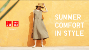 Spend your summer in comfort and style with UNIQLO