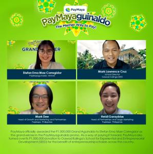 PayMaya brings Php1-M 'grand aguinaldo' to QC employee and Gawad Kalinga