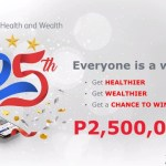 Download Pulse, Pru Life UK all-in-one health app, and stand a chance to win the Php2.5 million cash prize in the grand raffle draw