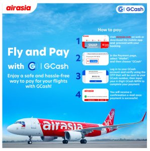 GCash payment option now available for AirAsia guests