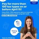 Pay your BIR taxes easy, safe, and convenient via GCash app
