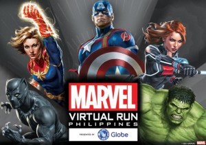 Reinvent your fitness journey with the first-ever virtual run inspired by MARVEL Super Heroes with Globe
