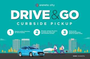Araneta City offers shopping convenience via Drive & Go curbside pickup