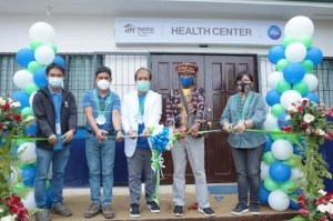 P&G builds first ever health center in Barangay Baganihan, Davao to help women, children and indigenous people
