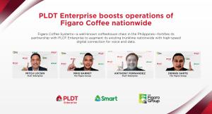 PLDT Enterprise bolsters partnership with Figaro Group