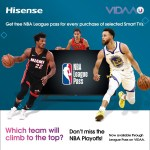 Hisense invites its users to experience the best NBA games from home with stars like LeBron James, Stephen Curry and Luka Dončić