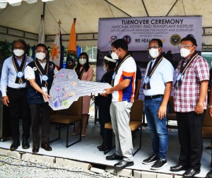 The National Kidney and Transplant Institute inaugurates its COVID-19 hemodialysis facility