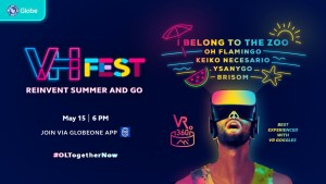 Globe Virtual Hangouts presents VH Fest: Reinvent Summer and Go – a celebration of reinvention through music