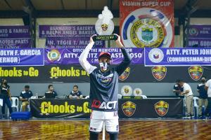 Gimpayan claims VisMin Cup Visayas MVP award