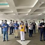 Araneta City frontliners, lessees receive free COVID-19 jabs