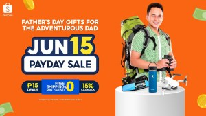 Score these cool gifts for your adventurous Dad at Shopee's Payday Sale