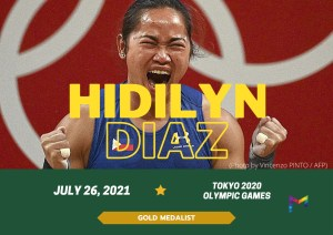 Weightlifter Hidilyn Diaz triumphs first Philippine's Olympic Gold Medal at Tokyo 2020