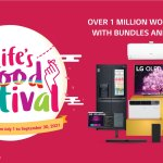 More than 1M raffle prizes to be given away with LG's first ever Life's Good Festival