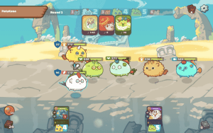 AXIE INFINITY, the latest model of Play-To-Earn online games