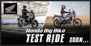 Honda Big Bike Adventure Series, up for free test ride