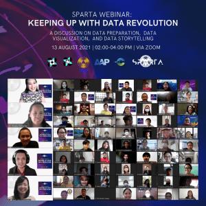 SPARTA conducts webinar on data revolution
