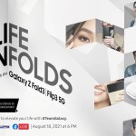 Samsung starts pre-order of Galaxy Z Fold3 5G and Galaxy Z Flip3 5G today; Introduces new ways to connect with #TeamGalaxy Liza Soberano and Erwan Heussaff