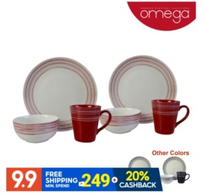 Score exciting deals from Omega Houseware this 9.9 Super Shopping Day on Shopee and find out why Filipino home buddies love elegant yet affordable housewares