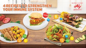 Strengthen your immune system with these four nutritious yet delicious and affordable recipes