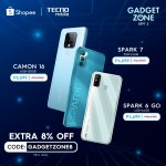 TECNO Mobile tech exclusives coming this September to Shopee Gadgetzone