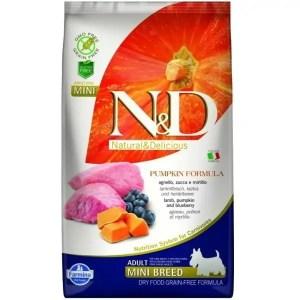 N&D Pumpkin Mini Lamb & Blueberry