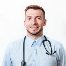 veterinář Samuel Evinic