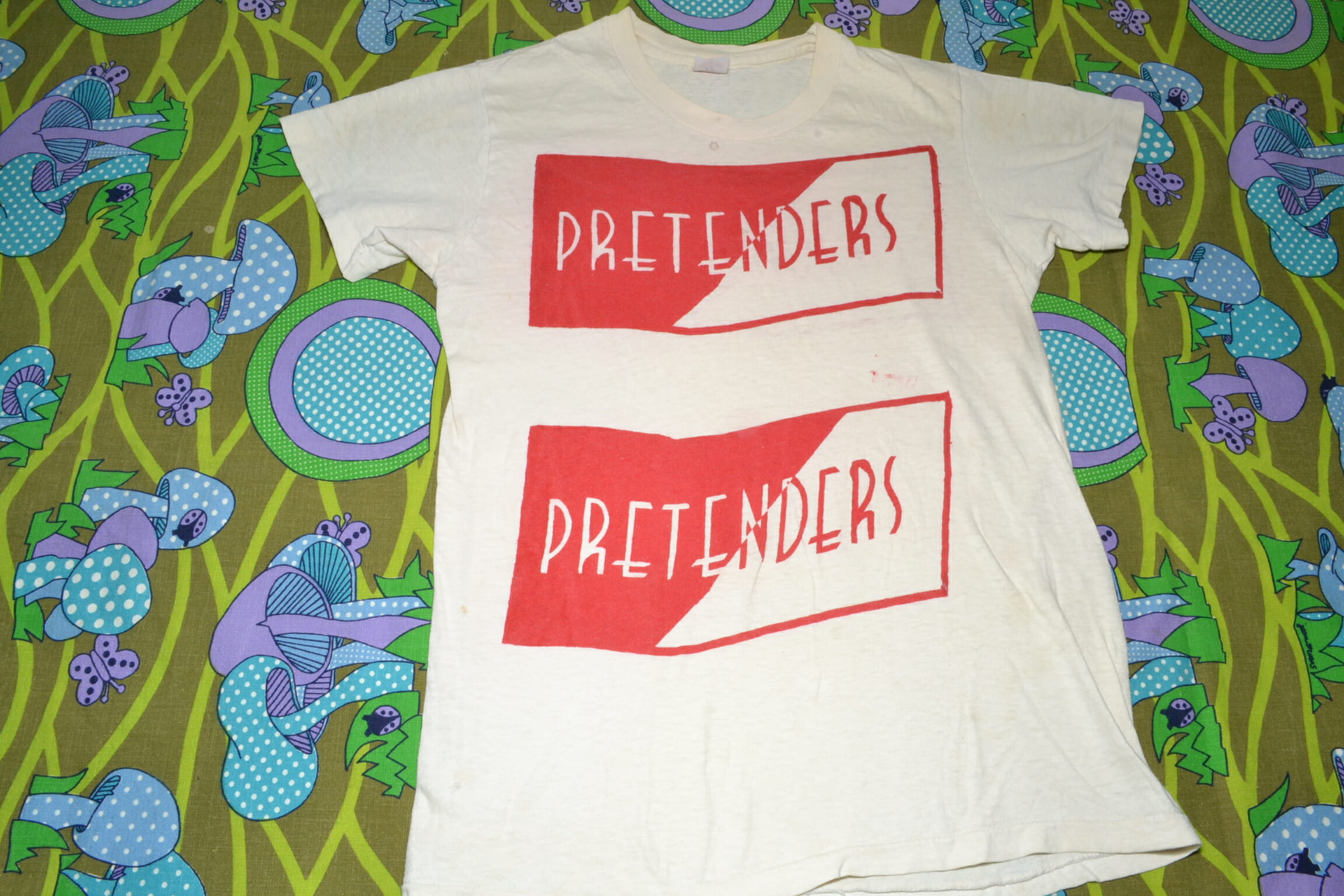 New punk rock tshirts on etsy metropolis vintage n y c for Best selling t shirts on etsy