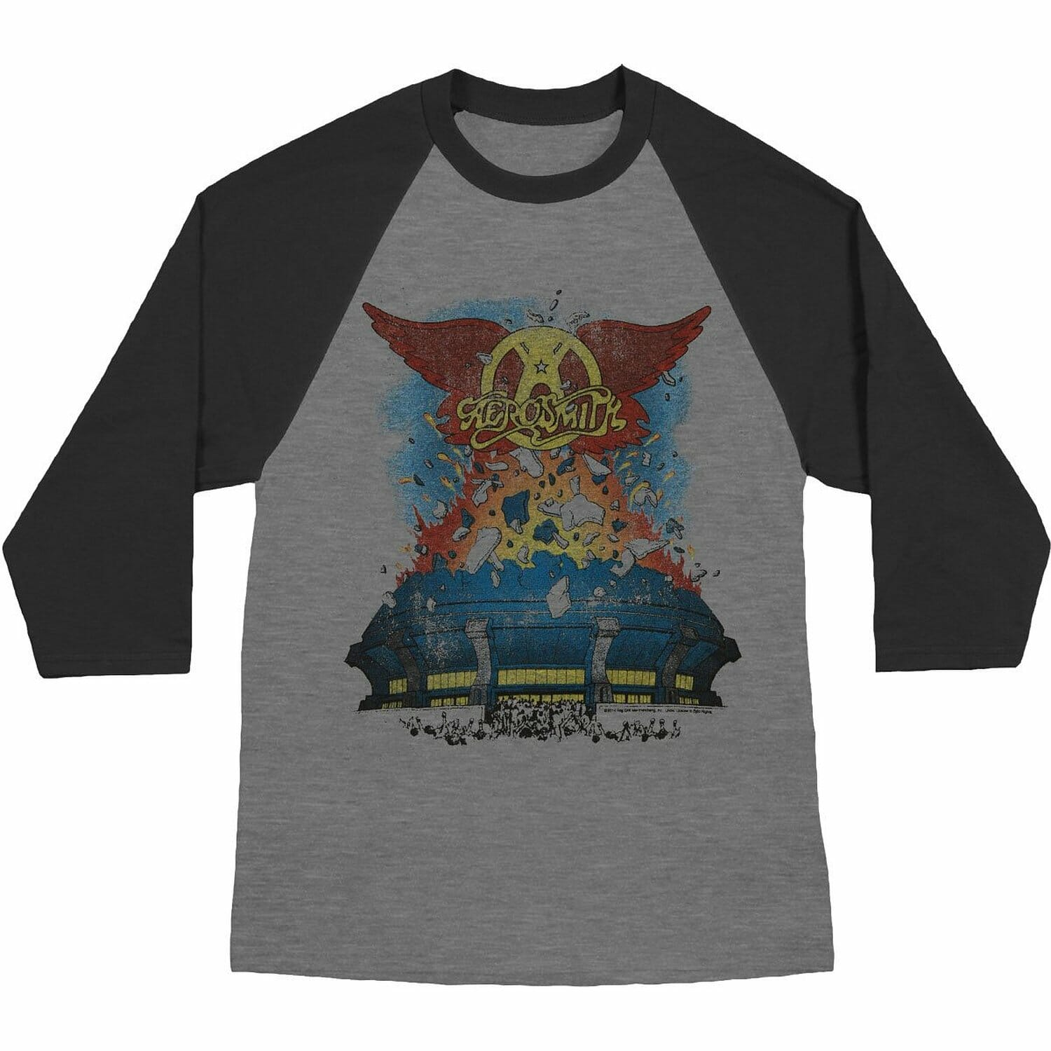 c34b8f3ed NYC's Largest and Best Selection of AEROSMITH T-Shirts! | METROPOLIS  VINTAGE N.Y.C.