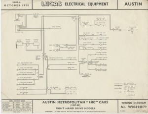 [WRG5568] Austin Distributor Wiring Diagram