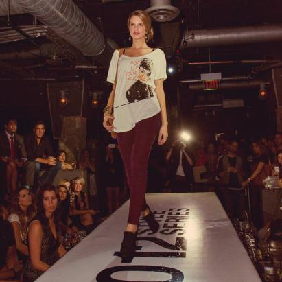 Chicago Fashion Foundation partners up with FlagshipUSA to hold a fashion show during Fashion's Night Out at The Underground.