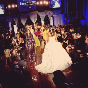 Next Fashion 2012 runway show at Germania Place during Fashion Focus Week Chicago.