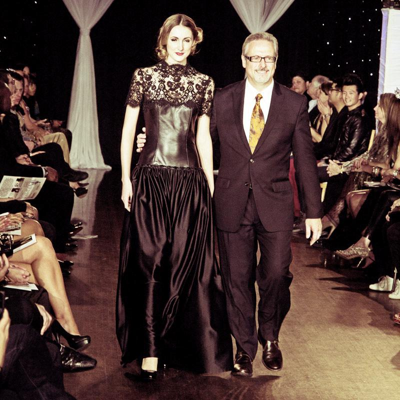 Designer Mark Roscoe at Next Fashion 2012 runway show at Germania Place during Fashion Focus Week Chicago.