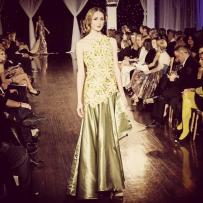 Design by Fraley Le shown at Next Fashion 2012 runway show at Germania Place during Fashion Focus Week Chicago.