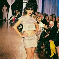 Design by Meekis shown at Next Fashion 2012 runway show at Germania Place during Fashion Focus Week Chicago.