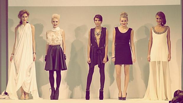 Mario, Make Me A Model finalists Caroline Mazurek, Birgit Dalgaard, Laura Almazan, Olivia Simmons and Mana Winkler were selected to continue to the final challenge of walking the runway with professional Factor models at the Fashion Focus Chicago 2012.