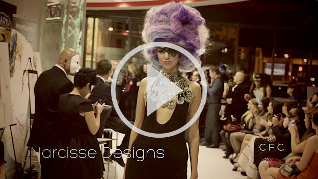 Luxury corsets, avant-garde hair and femme fatale at Via del Corso