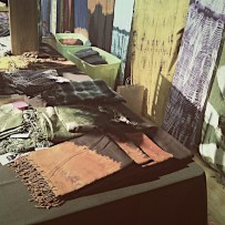 Maisha scarfs at the Heshima Kenya Fashion Challenge. Proceeds from the event are reinvested into the Maisha Collective and support the participants' success in Heshima Kenya's programs.