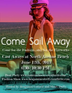 Come Sail Away Fashion Show
