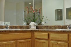 caribe cove resort restroom in villa